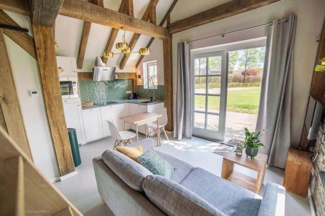 Villapparte-Vipio-Tiny House Oirschot-luxe vakantiehuis voor 4 personen-Oirschot-Noord-Brabant-luxe keuken