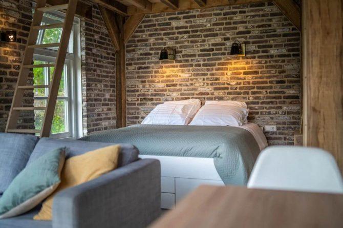 Villapparte-Vipio-Tiny House Oirschot-luxe vakantiehuis voor 4 personen-Oirschot-Noord-Brabant-luxe slaapkamer