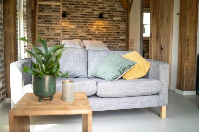 Villapparte-Vipio-Tiny House Oirschot-luxe vakantiehuis voor 4 personen-Oirschot-Noord-Brabant-romantische zithoek