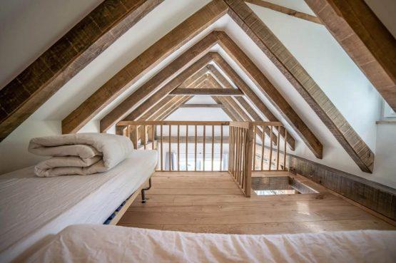 Villapparte-Vipio-Tiny House Oirschot-luxe vakantiehuis voor 4 personen-Oirschot-Noord-Brabant-slaapplek vide voor kinderen