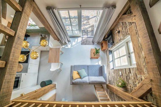 Villapparte-Vipio-Tiny House Oirschot-luxe vakantiehuis voor 4 personen-Oirschot-Noord-Brabant-vanuit de vide
