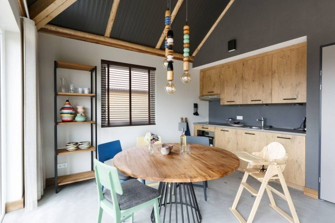 Villapparte-Beekse Bergen-Safariresort-Kidslodge Beekse Bergen-Unieke lodge voor 6 personen-Hilvarenbeek-luxe keuken