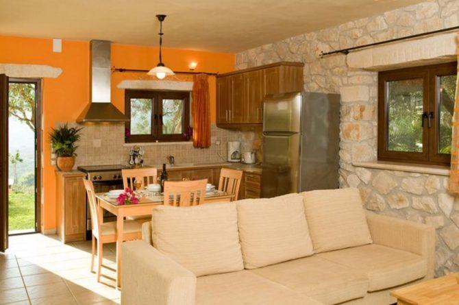 Villapparte-Eliza was here-Kymaros Villas-luxe villa's voor 2-8 personen-Zakynthos-Griekenland-gezellige keuken