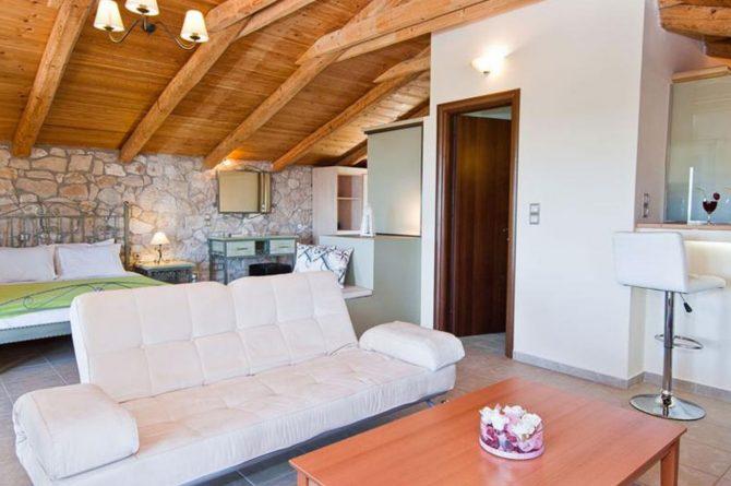Villapparte-Eliza was here-Kymaros Villas-luxe villa's voor 2-8 personen-Zakynthos-Griekenland-gezellige zithoek