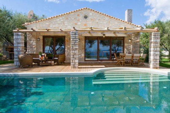 Villapparte-Eliza was here-Kymaros Villas-luxe villa's voor 2-8 personen-Zakynthos-Griekenland-loungeset aan het zwembad
