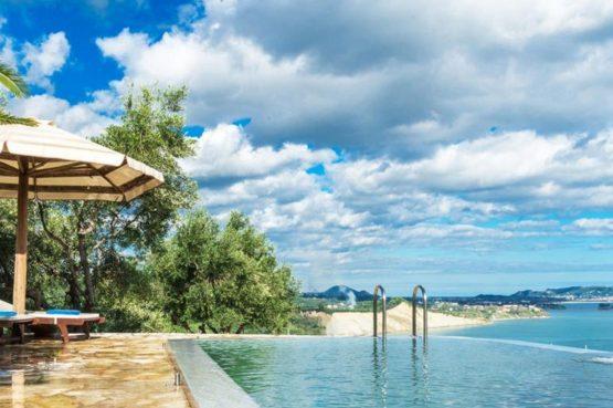 Villapparte-Eliza was here-Kymaros Villas-luxe villa's voor 2-8 personen-Zakynthos-Griekenland-zwembad met uitzicht