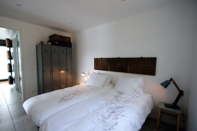 Villapparte-FranceVilla-Villa Marilove-Luxe vakantiehuis voor 6 personen-met zwembad en jacuzzi-Souillac-Dordogne-Frankrijk-luxe slaapkamer