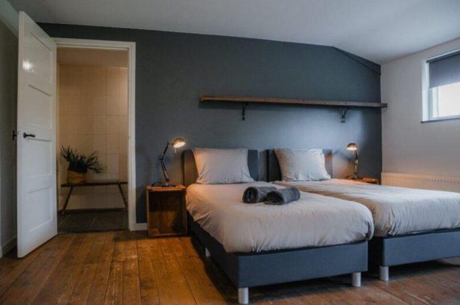 Villapparte-De Dorpswoning-De Volbloed-luxe vakantiehuis voor 12 personen-Leenderstrijp-Noord-Brabant-romantische slaapkamer