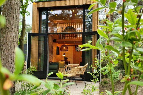 Villapparte-Droomparken-Tiny House Hooge Veluwe-Knus vakantiehuis voor 2 personen-Gelderland