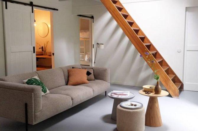 Villapparte-Natuurhuisje-Natuurhuisje Appelscha-luxe vakantiehuis voor 8 personen-Nationaal park Drents-Friese Wold-Friesland-woonkamer