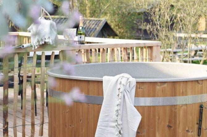 Villapparte-Natuurhuisje-Natuurhuisje Hoeve Echtenerbrug-romantisch vakantiehuisje voor 4 personen-Echtenerbrug-Friesland-hottub