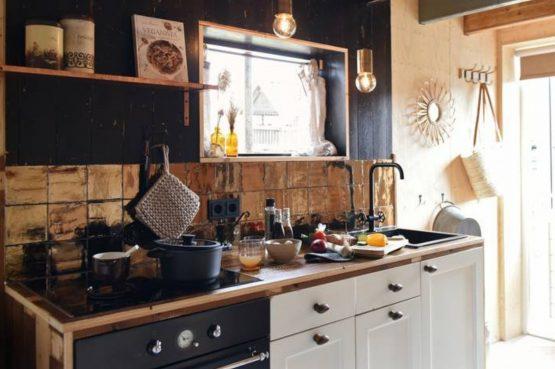 Villapparte-Natuurhuisje-Natuurhuisje Hoeve Echtenerbrug-romantisch vakantiehuisje voor 4 personen-Echtenerbrug-Friesland-luxe keuken