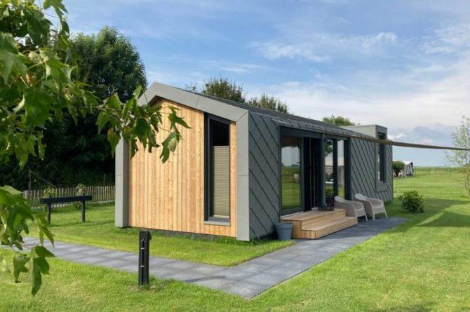 Villapparte-Natuurhuisje Tiny Roof Koudum-romantisch tiny house voor 2 personen-Friesland