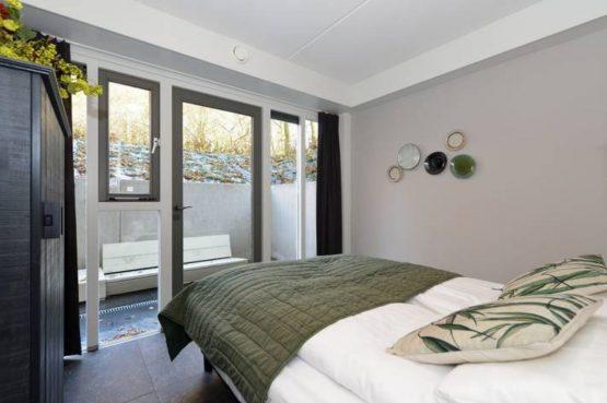 Villapparte- Natuurhuisje Vrijrijck-Ermelo-luxe vakantiehuis voor 16 personen-Gelderland-romantische slaapkamer