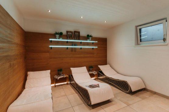 Villapparte-Villa for you-Vakantiehuis Tauernlodge Krimml-luxe vakantiehuis voor 10 personen-met sauna-Salzburgerland-Oostenrijk-Sauna relaxruimte