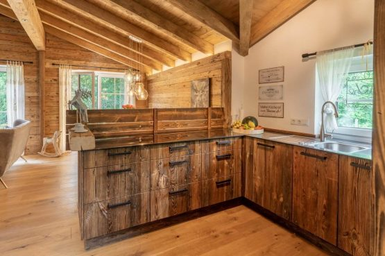 Villapparte-Villa for you-Vakantiehuis Tauernlodge Krimml-luxe vakantiehuis voor 10 personen-met sauna-Salzburgerland-Oostenrijk-complete keuken