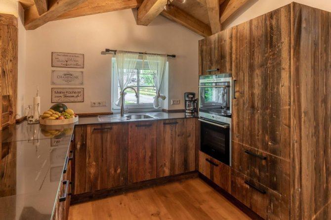 Villapparte-Villa for you-Vakantiehuis Tauernlodge Krimml-luxe vakantiehuis voor 10 personen-met sauna-Salzburgerland-Oostenrijk-luxe keuken