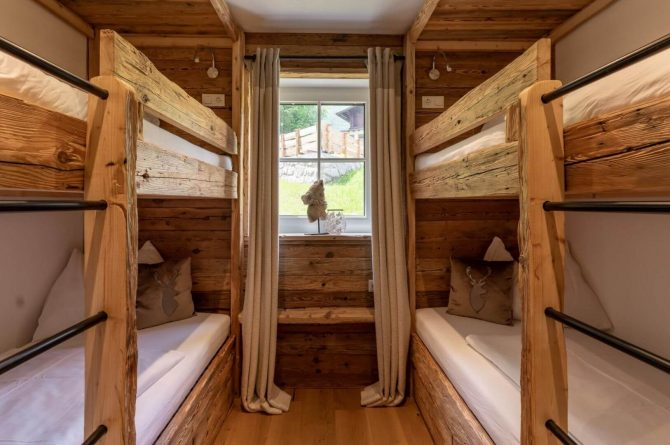 Villapparte-Villa for you-Vakantiehuis Tauernlodge Krimml-luxe vakantiehuis voor 10 personen-met sauna-Salzburgerland-Oostenrijk-stapelbedden