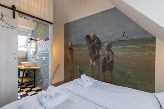 Villapparte-Welcome in Zeeland-Appartement - Schulenburg 33a-Oostkapelle-luxe appartement voor 2 personen-dichtbij het strand-Zeeland-romantische slaapkamer