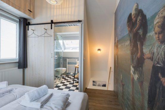 Villapparte-Welcome in Zeeland-Appartement - Schulenburg 33a-Oostkapelle-luxe appartement voor 2 personen-dichtbij het strand-Zeeland-slaapkamer