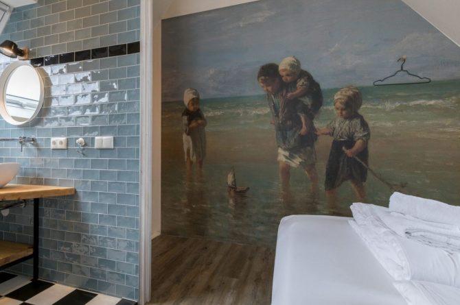 Villapparte-Welcome in Zeeland-Appartement - Schulenburg 33a-Oostkapelle-luxe appartement voor 2 personen-dichtbij het strand-Zeeland-stijlvolle slaapkamer
