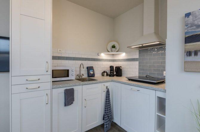 Villapparte-Welcome in Zeeland-Appartement - Schulenburg 33a-Oostkapelle-luxe appartement voor 2 personen-inclusief strandcabine-Zeeland-luxe keuken