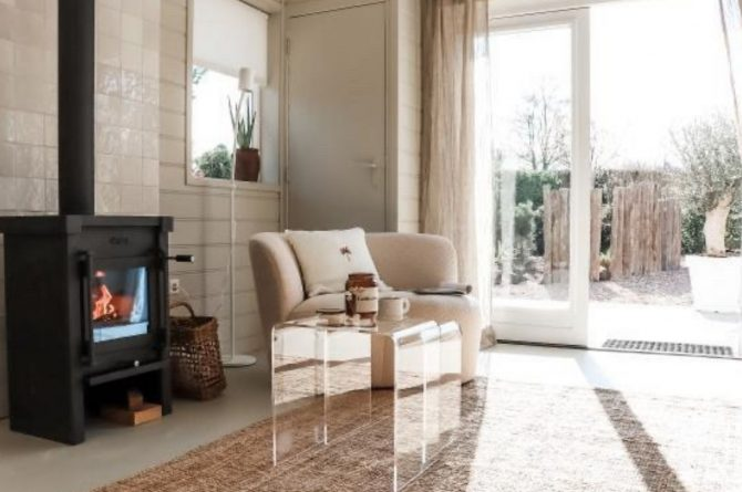 Villapparte-Casa Noa Anna-Luxe vakantiehuis voor 6 personen-Dichtbij zee-Ouddorp-Zuid-Holland-houtkachel
