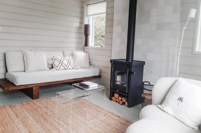 Villapparte-Casa Noa Anna-Luxe vakantiehuis voor 6 personen-Dichtbij zee-Ouddorp-Zuid-Holland-knusse woonkamer