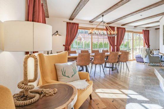 Villapparte-Villa for you-Chalet Wilder Kaiser-Luxe vakantiehuis voor 10 personen-Itter-Tirol-Oostenrijk-gezellige eethoek