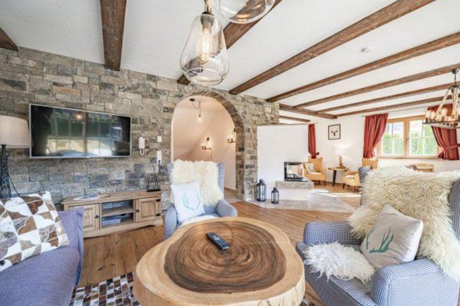 Villapparte-Villa for you-Chalet Wilder Kaiser-Luxe vakantiehuis voor 10 personen-Itter-Tirol-Oostenrijk-gezellige zithoek