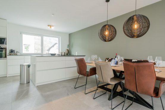 Villapparte-Villa for You-Vakantiehuis Aquarius Haus-luxe vakantiehuis voor 6 personen-Stiermarken-Oostenrijk-eethoek
