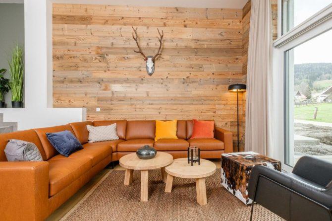 Villapparte-Villa for You-Vakantiehuis Aquarius Haus-luxe vakantiehuis voor 6 personen-Stiermarken-Oostenrijk-knusse zithoek