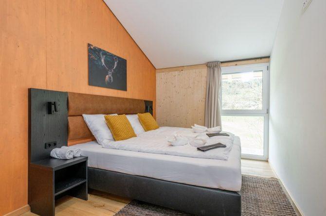 Villapparte-Villa for You-Vakantiehuis Aquarius Haus-luxe vakantiehuis voor 6 personen-Stiermarken-Oostenrijk-luxe slaapkamer